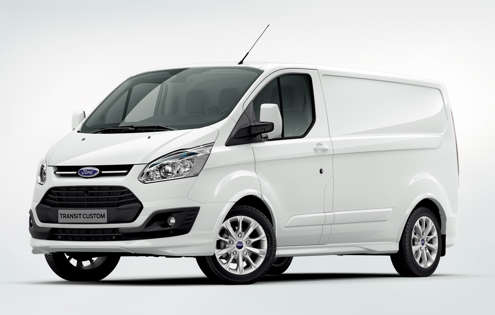 driving in a new 2020 ford transit driving in a new 2020 ford transit