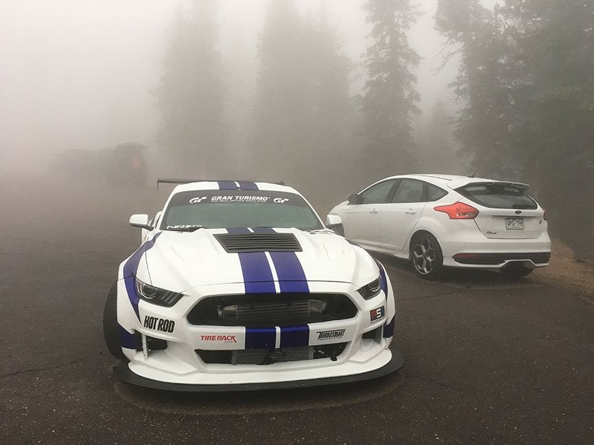 A Love For Mustangs And Pikes Peak